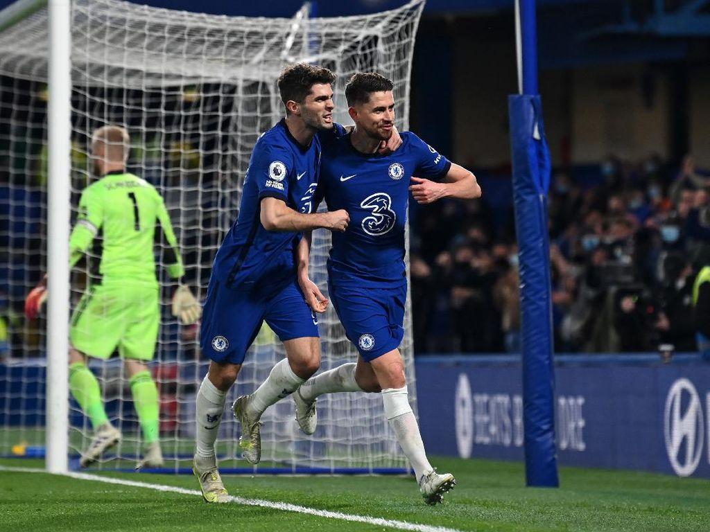 Chelsea Vs Leicester: The Blues Menang 2-1 dan Rebut Posisi Tiga