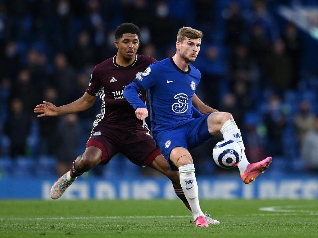 Gol Werner Dianulir, Chelsea Vs Leicester Masih 0-0 di Babak I