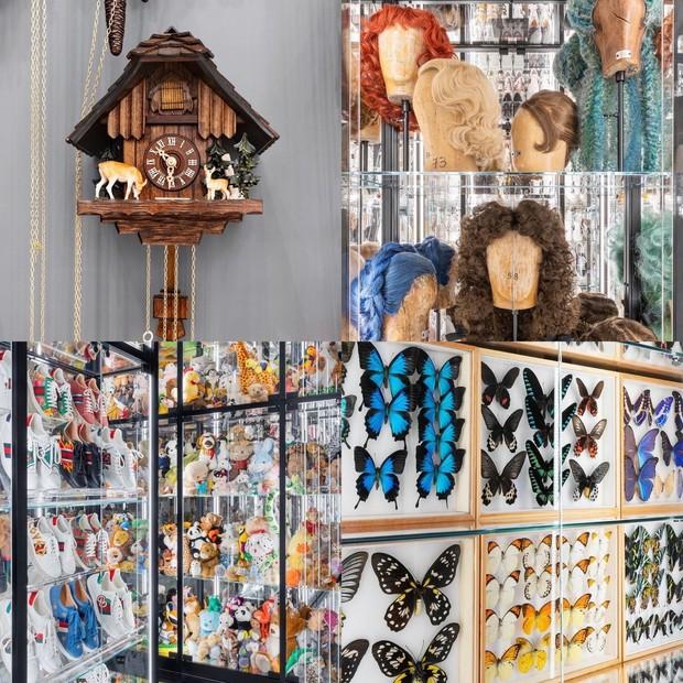 Aneka display dalam Gucci Garden Archetypes.
