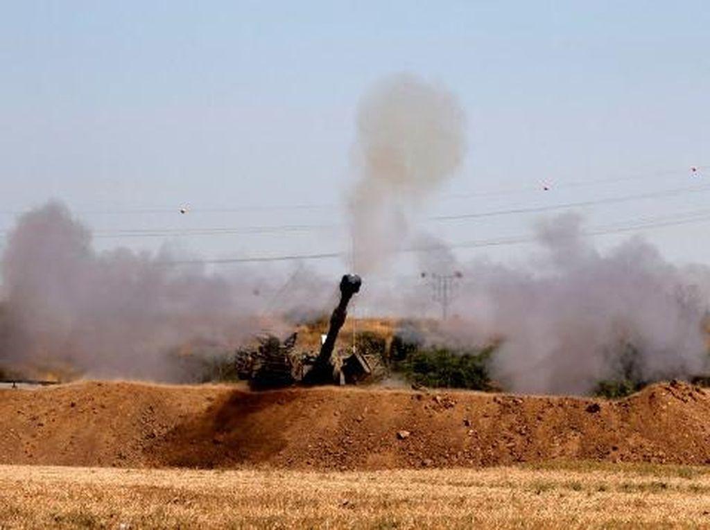 Israel Kembali Tembakkan Peluru Artileri, Balas Serangan Roket dari Lebanon