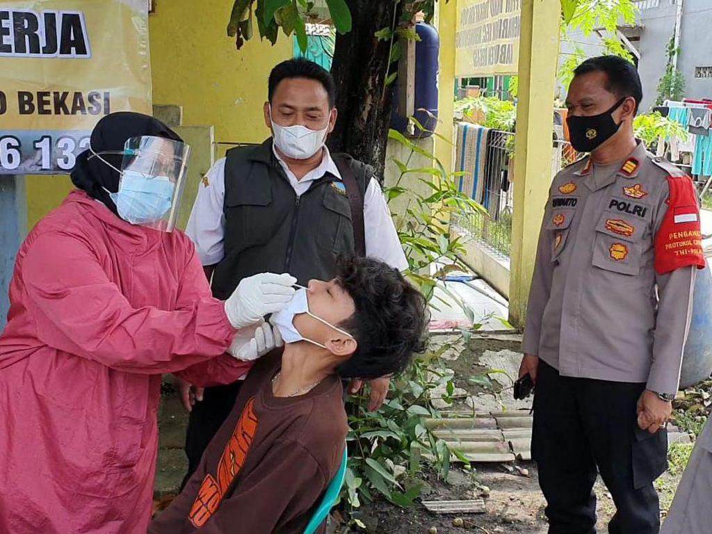 535 Warga di Kabupaten Bekasi Dites COVID Usai Mudik, 3 Reaktif