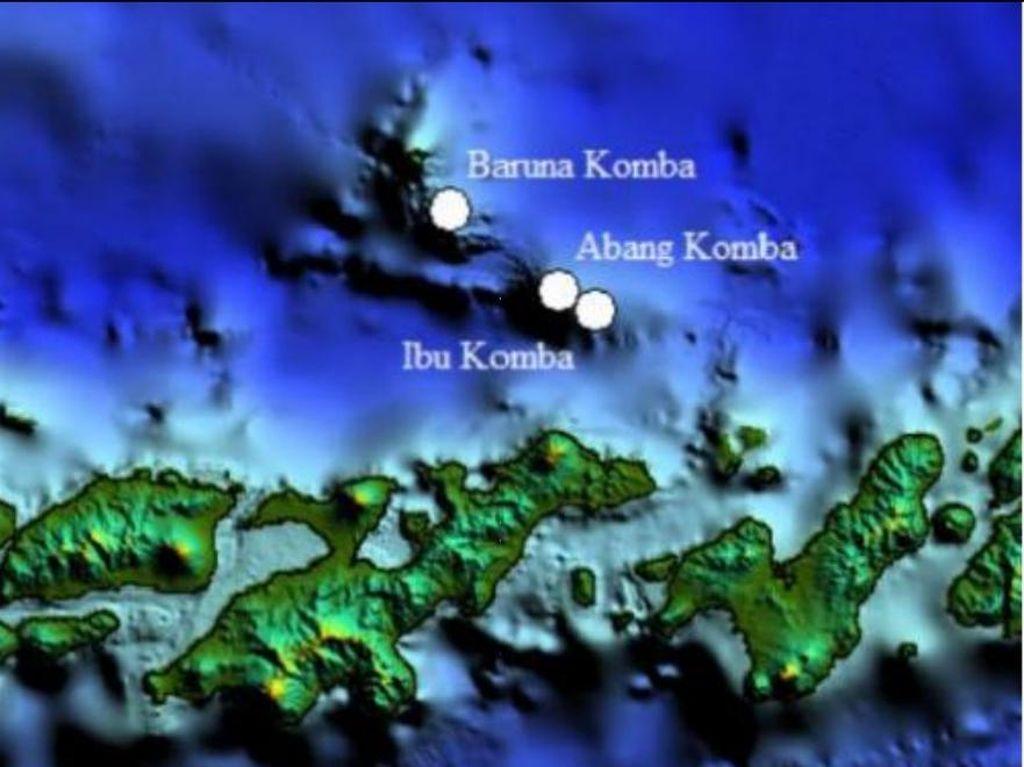 8 Gunung Api Bawah Laut Ditemukan, Ini Kata PVMBG