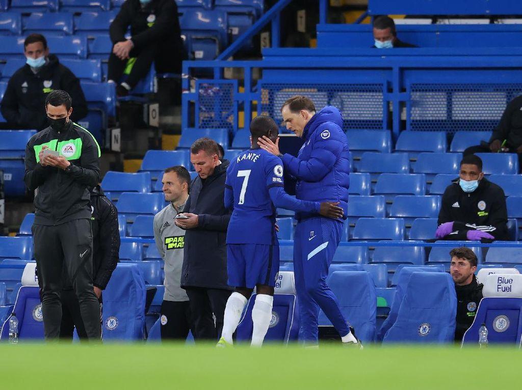 Chelsea Vs Leicester: Kok Kante Cuma Main Setengah Jam?
