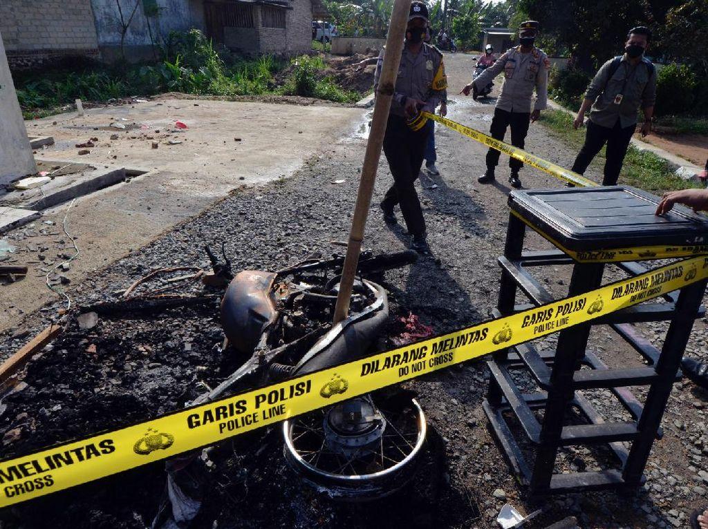Pembakar Polsek Candipuro yang Ditangkap Bertambah Jadi 14 Orang