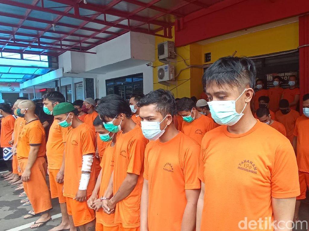 116 Penjahat Jalanan Beraksi di Bandung Sepanjang Ramadhan