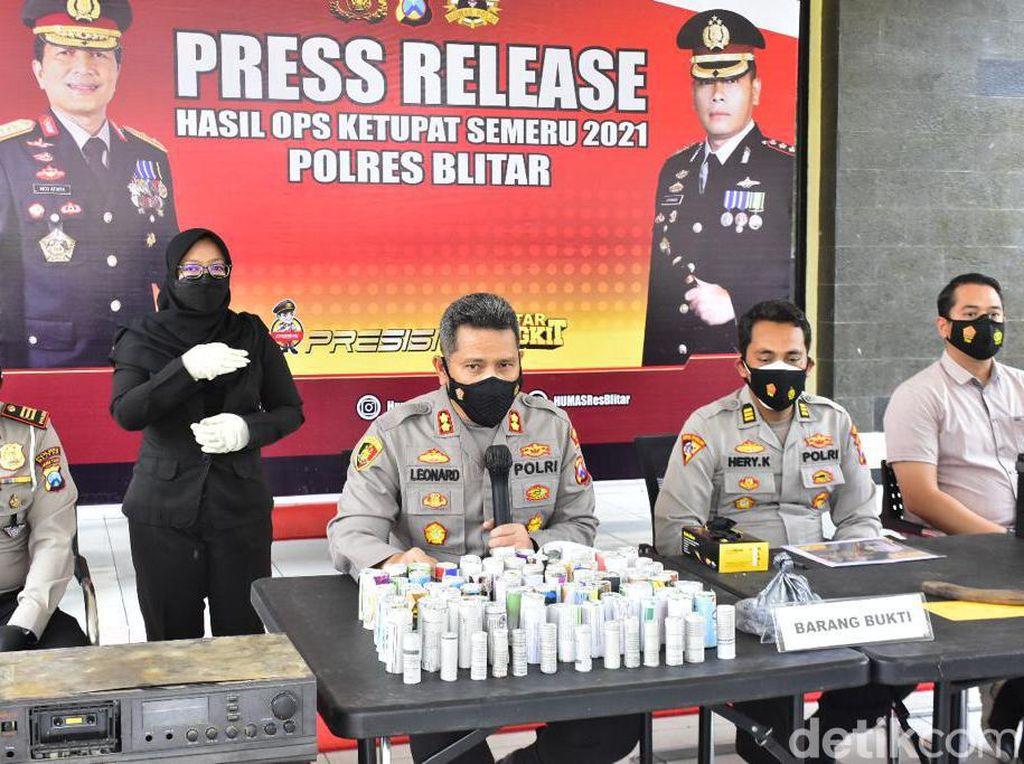 Operasi Ketupat di Blitar Turunkan Angka Kriminalitas Selama Larangan Mudik