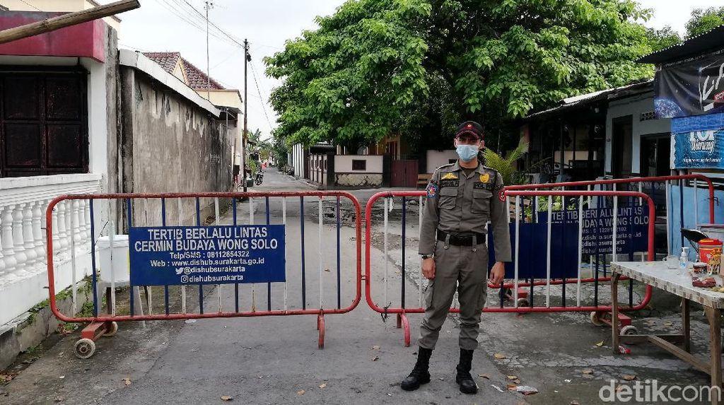Foto Terkini Kampung Jokowi yang Lockdown Gegara Klaster Corona