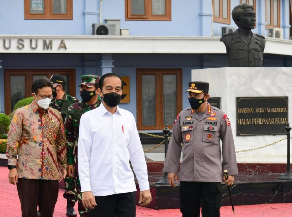 Jokowi Kunker ke Provinsi Riau Tinjau Pembangunan Tol Pekanbaru-Bangkinang