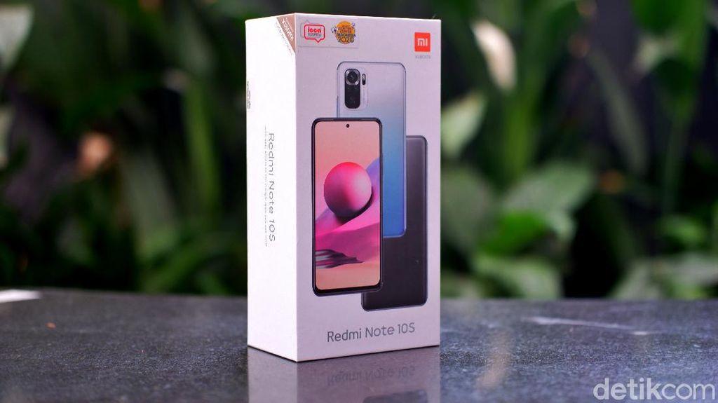 Unboxing Xiaomi Redmi Note 10S, HP Rp 2 Jutaan Bawa Layar AMOLED