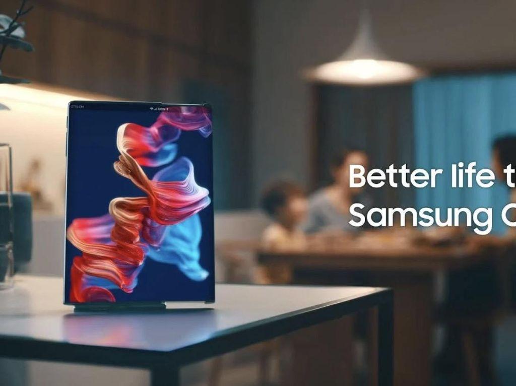 Begini Ponsel Masa Depan Buatan Samsung
