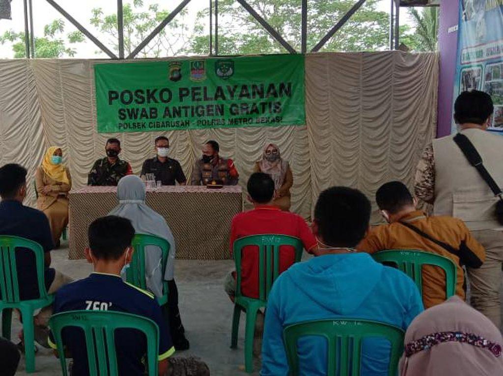 Puluhan Pemudik Dites COVID di Wilayah Kabupaten Bekasi, Ini Hasilnya