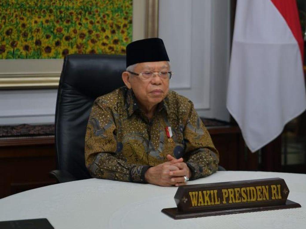 Wapres Maruf Ingatkan Ancaman Radikalisme, Minta BNPT Waspada