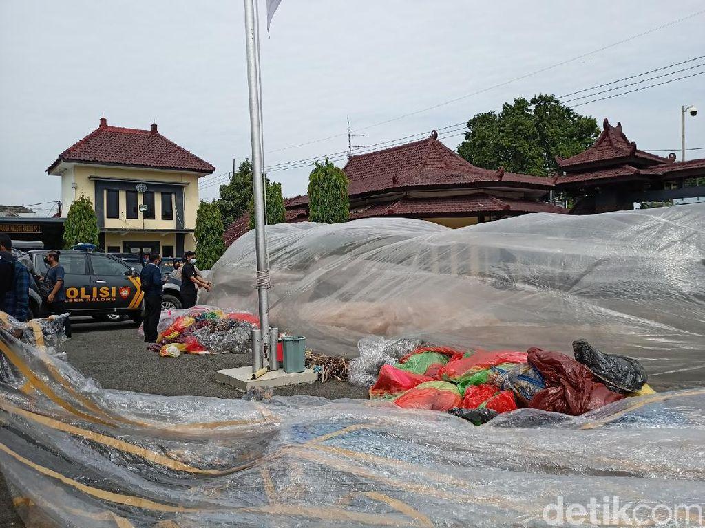 172 Balon Udara Diamankan di Ponorogo Selama Masa Lebaran
