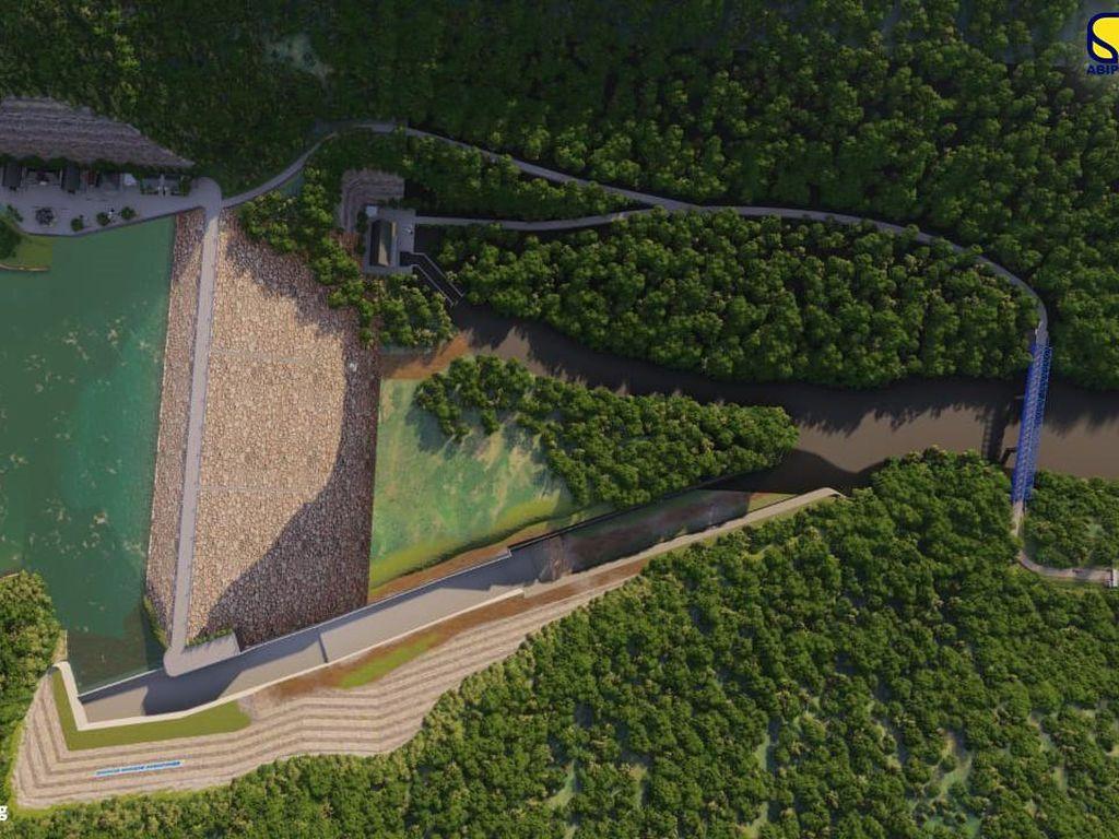 Brantas Abipraya Bangun Bendungan Pertama di Sulbar, Rampung 2023