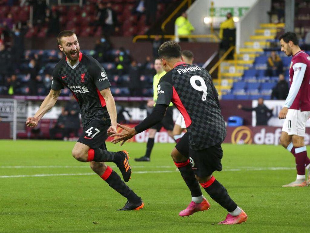 Burnley Vs Liverpool: Menang 3-0, The Reds Masuk Empat Besar