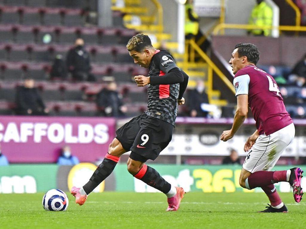 Babak I Selesai, Firmino Bawa Liverpool Ungguli Burnley 1-0