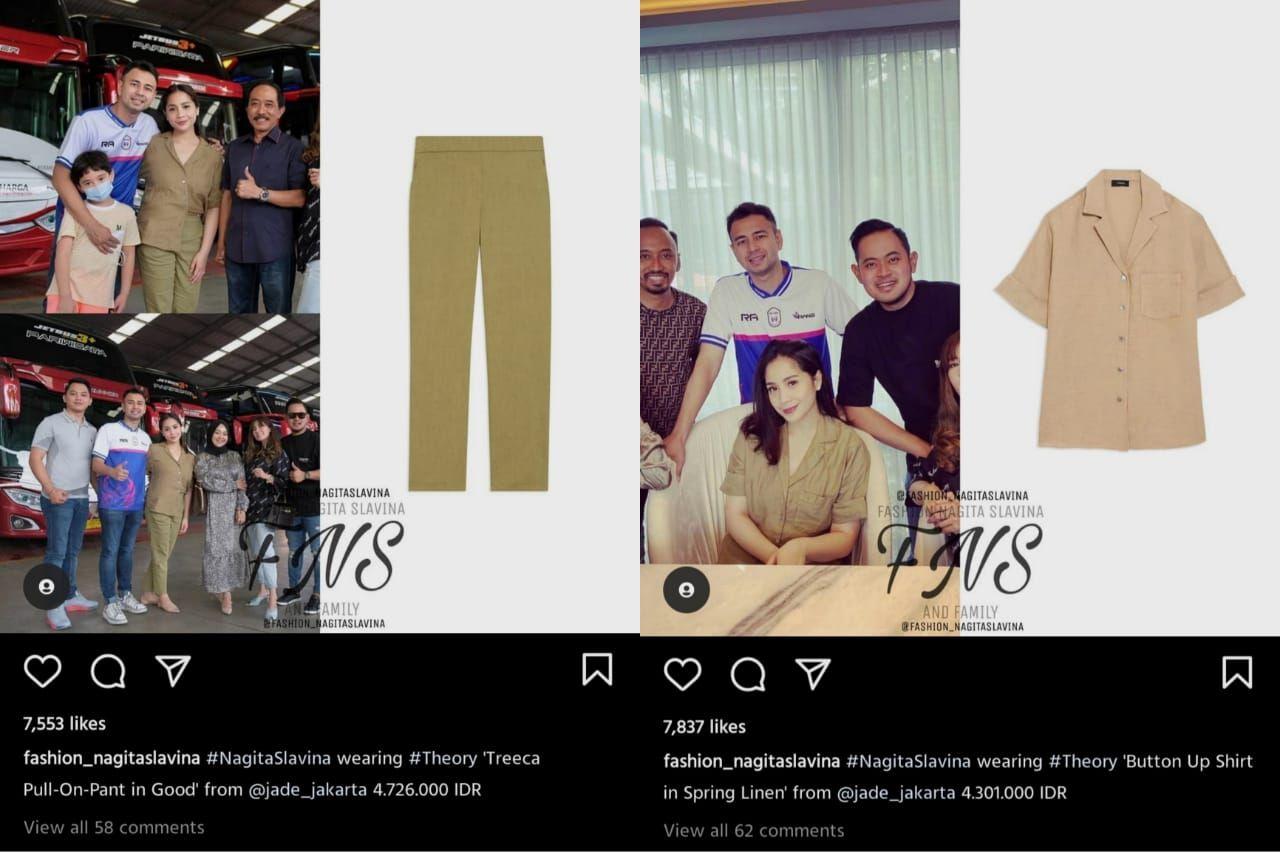 Fashion Nagita Slavina