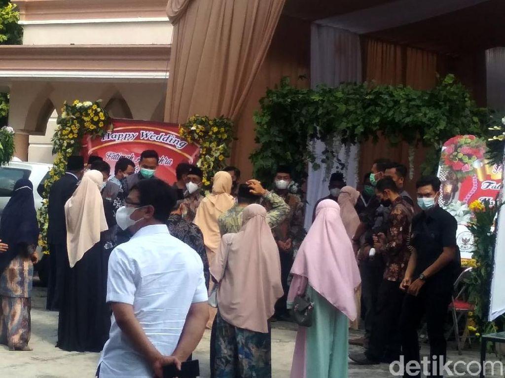 Foto-foto Lokasi Resepsi Pernikahan Ustaz Abdul Somad