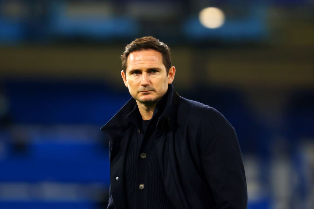 LONDON, ENGLAND - DECEMBER 28: Frank Lampard, Manager of Chelsea looks on ahead of the Premier League match between Chelsea and Aston Villa at Stamford Bridge on December 28, 2020 in London, England. The match will be played without fans, behind closed doors as a Covid-19 precaution. (Photo by Richard Heathcote/Getty Images)