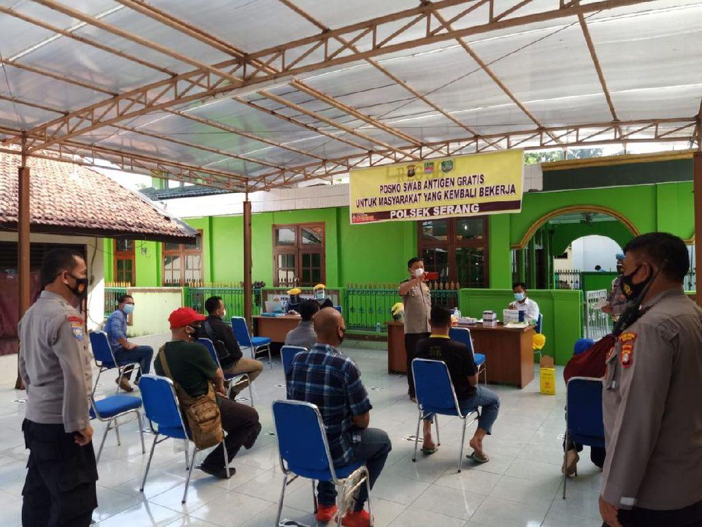Pemudik Di-swab di 6 Wilayah Kabupaten Bekasi, 4 Orang Reaktif Diisolasi