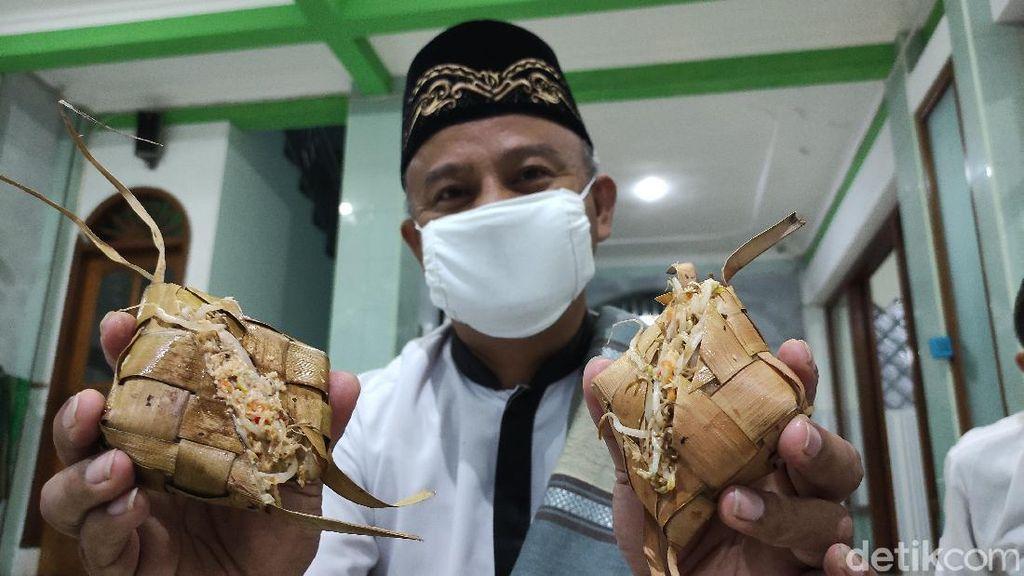 Ketupat Jembut Wajib Dimakan Sebagai Tradisi Syawalan di Semarang