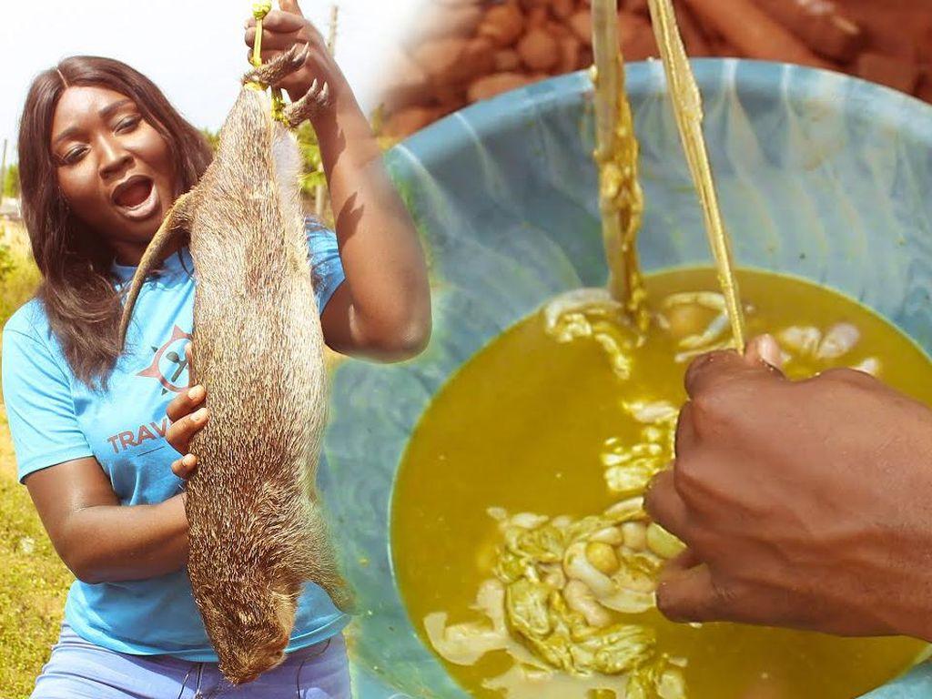 Kotoran Tikus dan Daging Anjing Jadi Makanan Favorit di Nigeria
