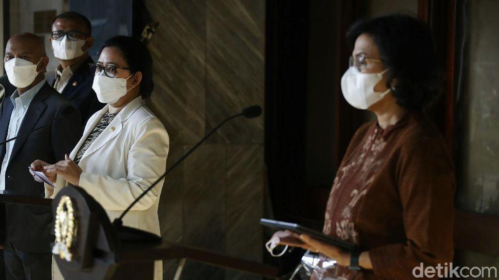 Momen Ketua DPR dan Menkeu Sampaikan Ekonomi Makro 2022