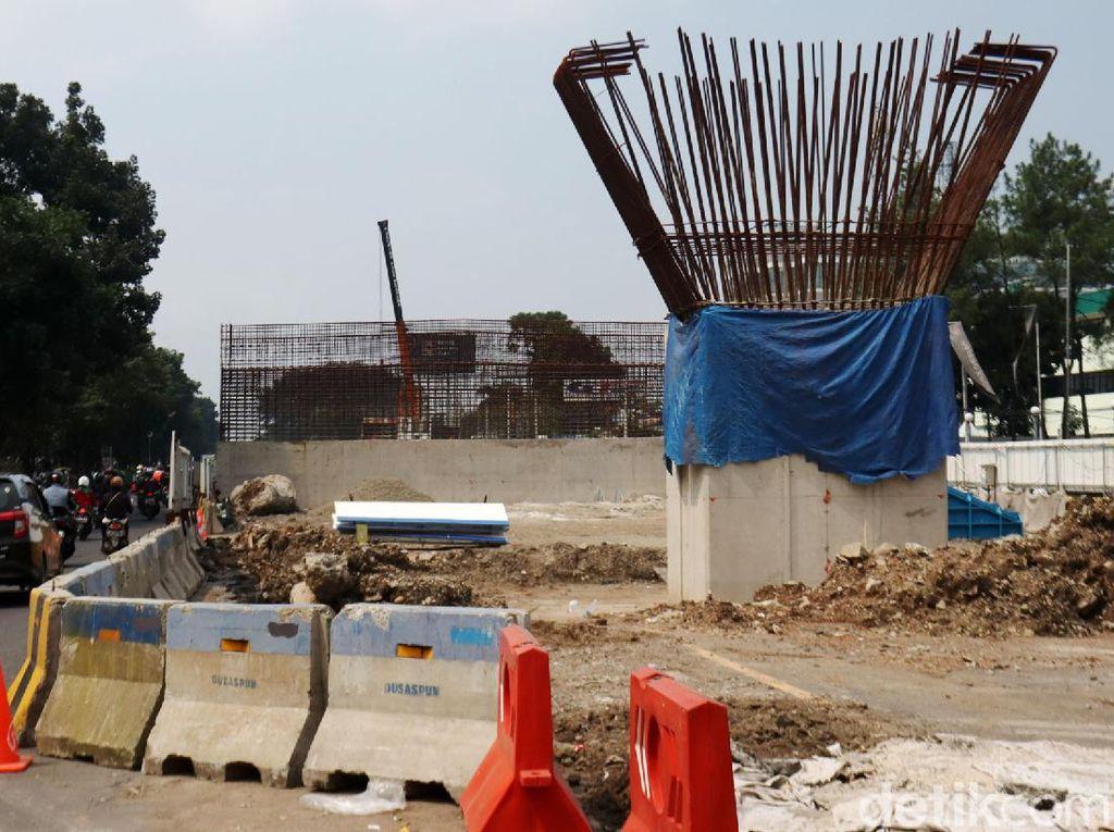 Penampakan Terkini Proyek Flyover Soekarno Hatta di Bandung