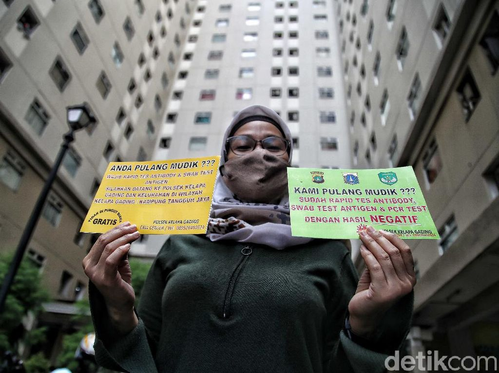 Penghuni Apartemen Jadi Sasaran Tes Swab Antigen Usai Mudik