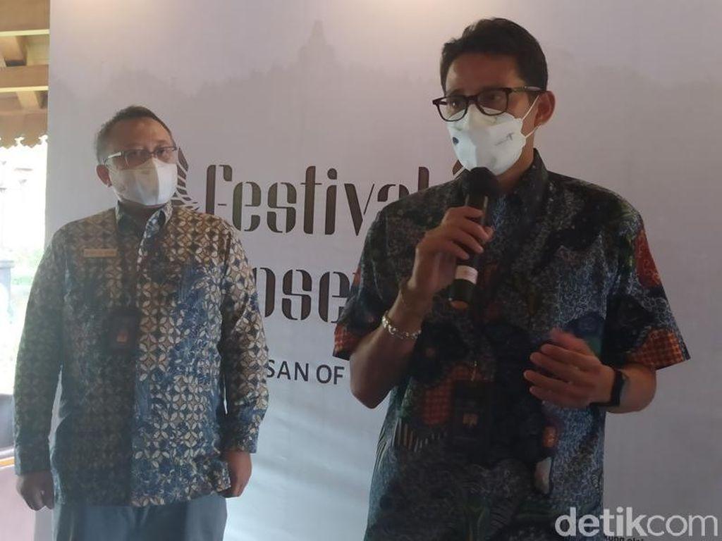 Sandiaga Uno: Badan Layanan Umum Borobudur Segera Difinalisasi