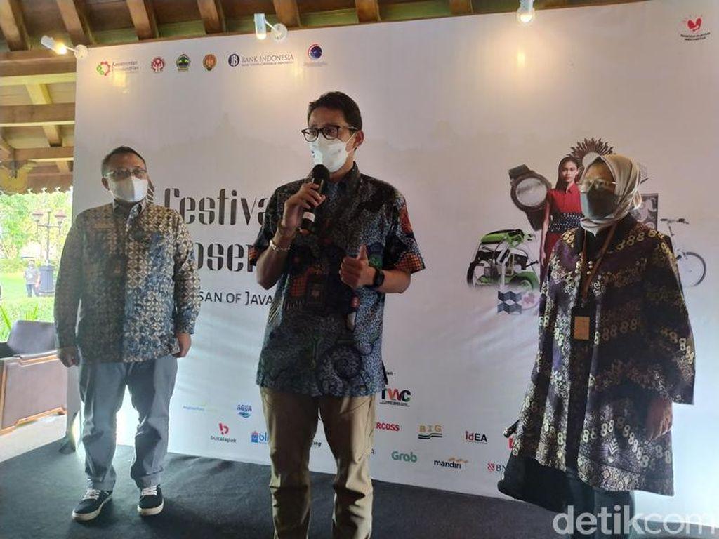 Sandi Pastikan Jalan Menuju Lahan Otorita Borobudur Segera Dibangun
