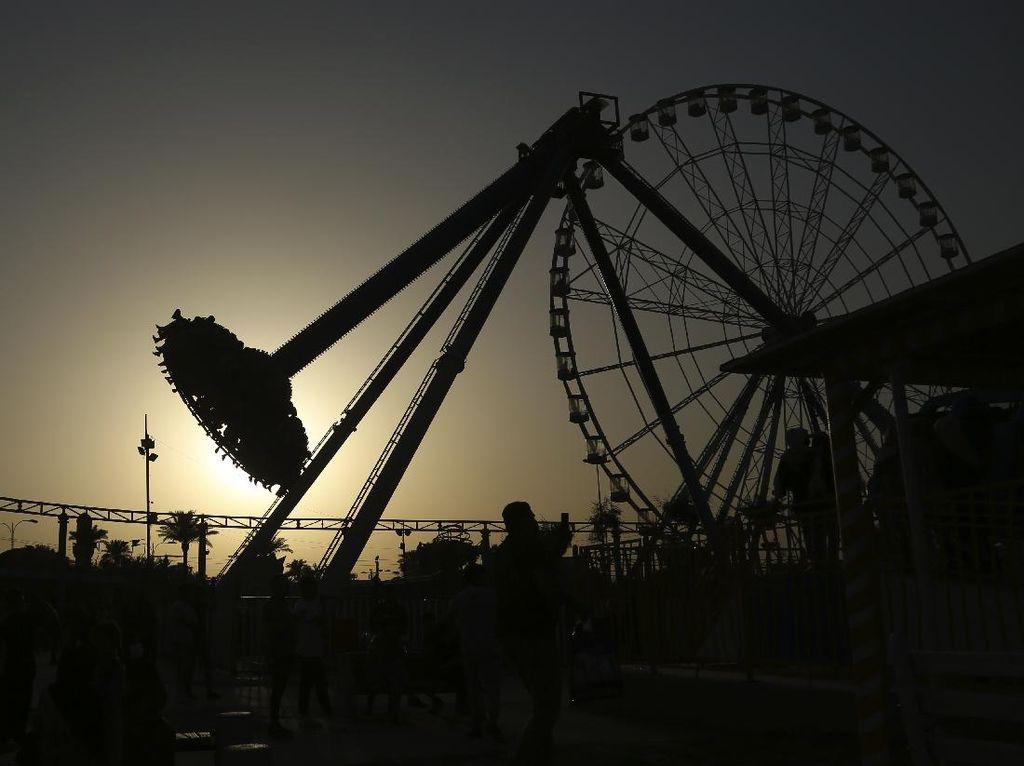 Serunya Bermain di Taman Hiburan Terbesar di Irak