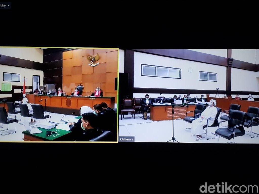 Bacakan Replik, Jaksa Minta Hakim Tolak Seluruh Pleidoi Rizieq