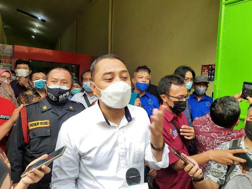 Antisipasi Lonjakan COVID-19, Walkot Eri Minta Warga Masuk Surabaya Dikarantina
