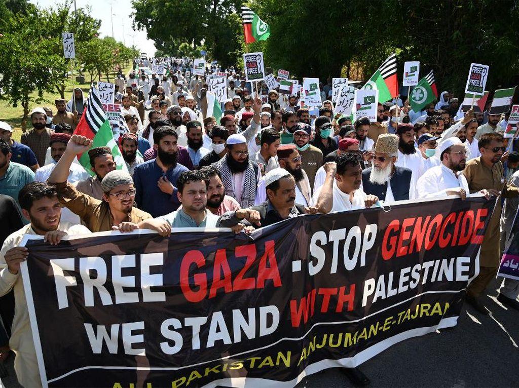 Demo Pro-Palestina di Pakistan Diguncang Bom, 6 Orang Tewas