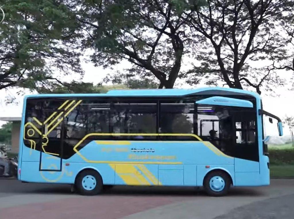 Laksana Rilis Bus Medium Nucleus: Fasilitas Komplet, Harga Tak Sampai Rp 1 M