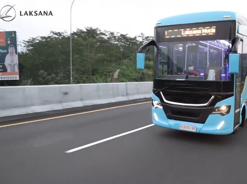Potret Bus Terbaru Laksana Nucleus 5 Seharga Rp 900 Jutaan