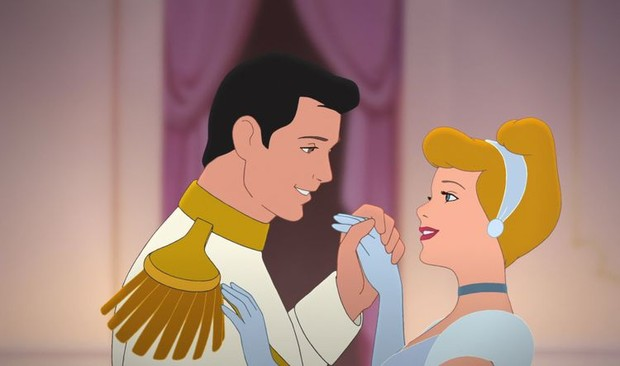 Prince Charming dan Cinderella.