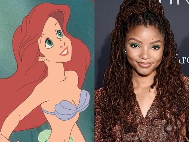 Ariel yang akan diperankan Halle Bailey.