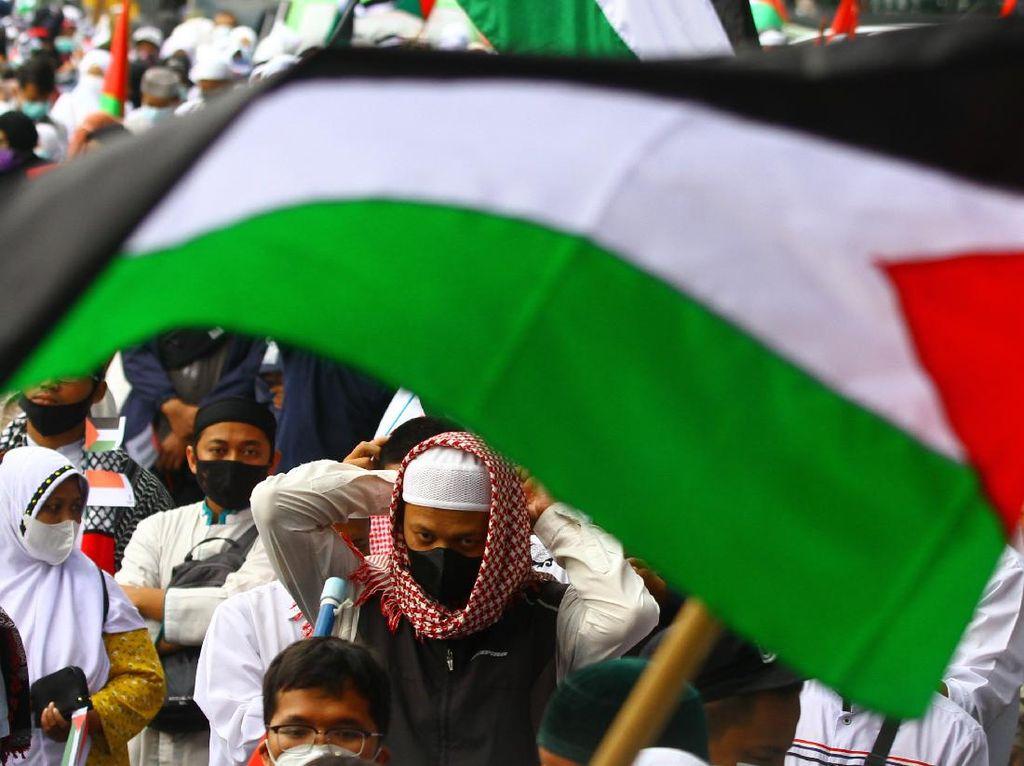 Geliat Aksi Bela Palestina di Penjuru Indonesia