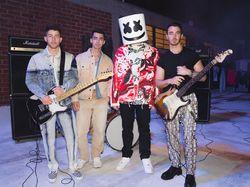 Jonas Brothers Bakal Tampil Bareng Marshmello di BBMA 2021