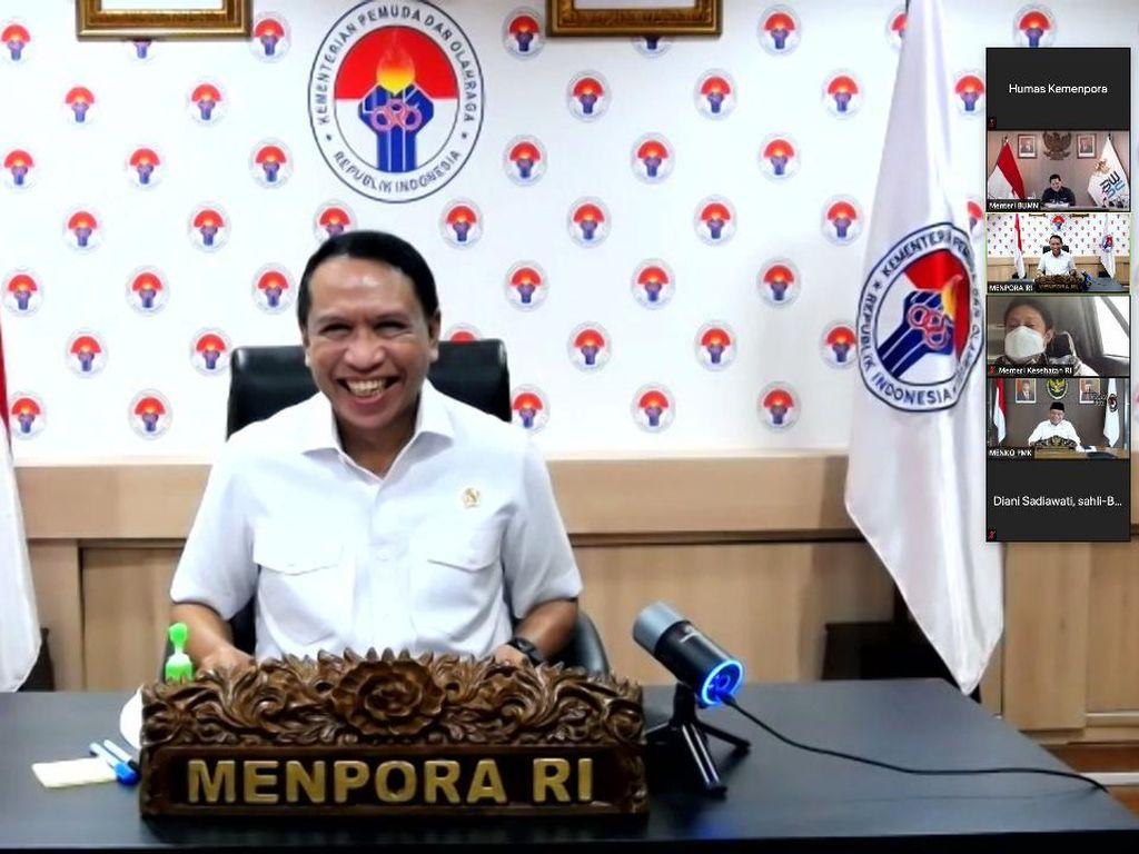 Menpora Ungkap Target Grand Desain Olahraga Nasional di Rakor Menteri