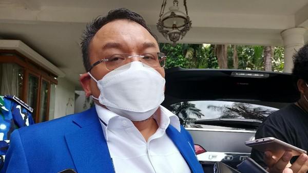 Ketua DPP PAN Saleh P Daulay (Foto: Karin/detikcom)