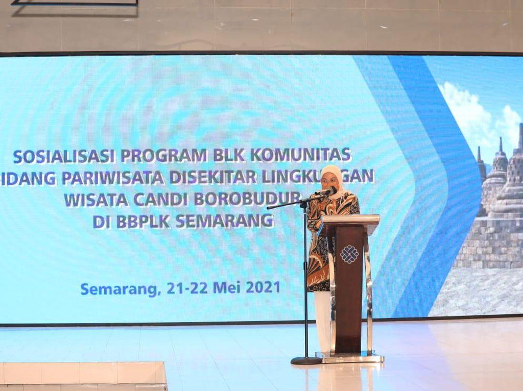 BLK Komunitas Disiapkan buat Suplai Pekerja Wisata Candi Borobudur