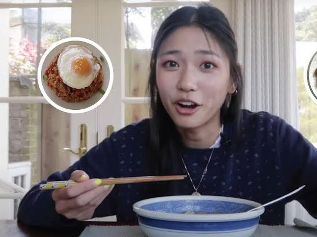 Bucin! Penggemar BTS Ini Cicipi Makanan Favorit Idolanya