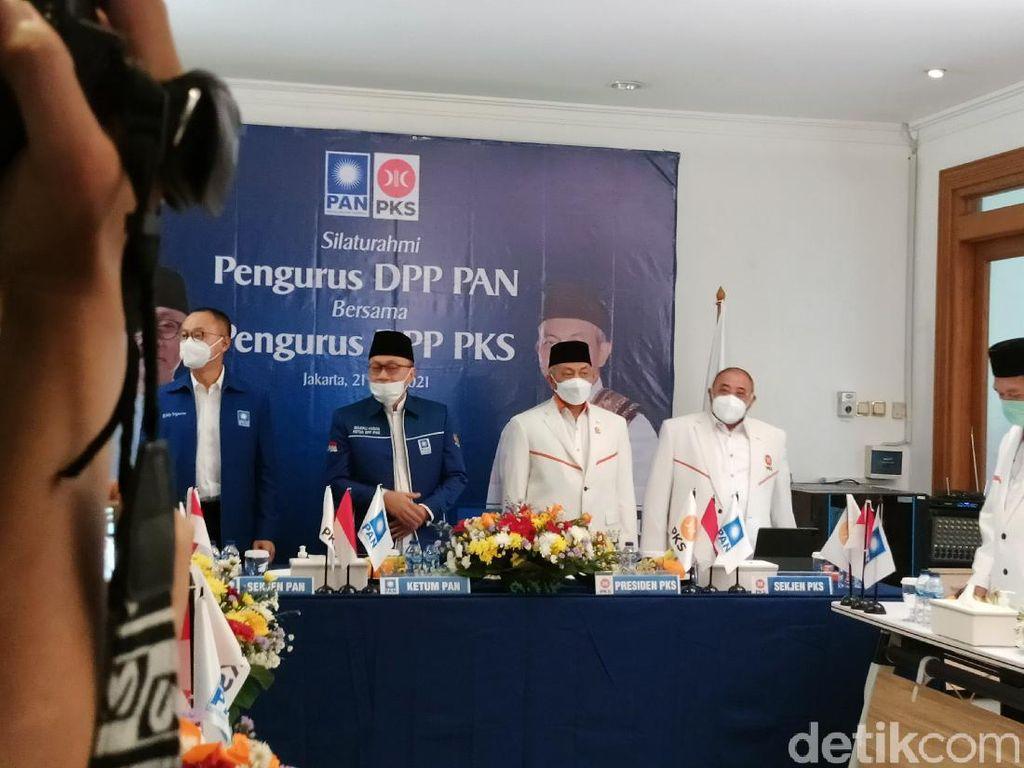 Safari Politik, Presiden PKS Kini Temui Ketum PAN