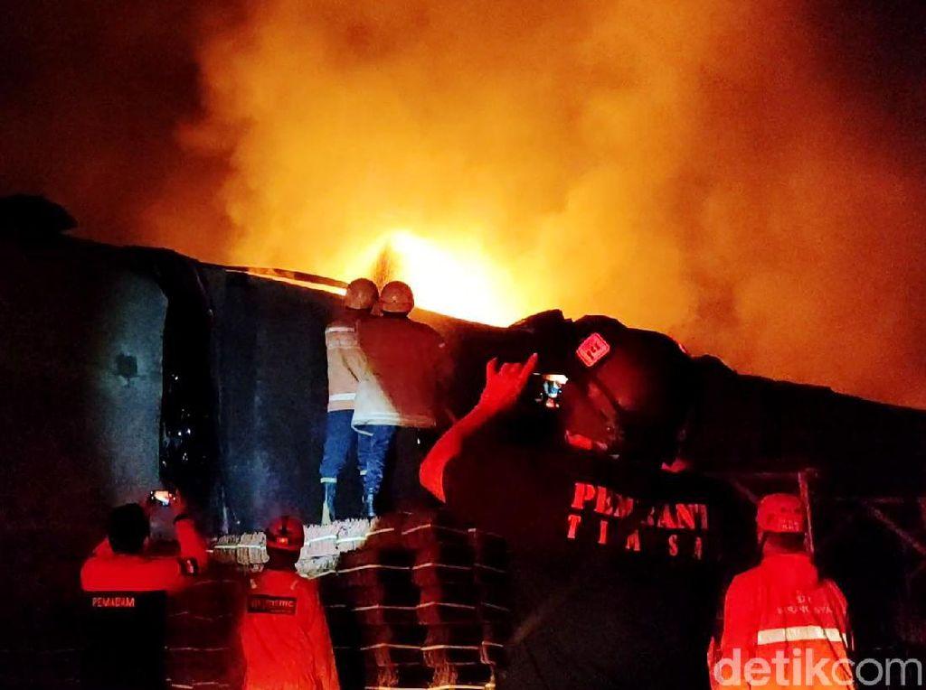 1 dari 3 Korban Kebakaran Gudang Tiner di Sragen Meninggal