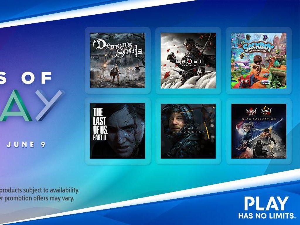 Ada Promo Game PS4 dan PS5 di Event Days of Play!