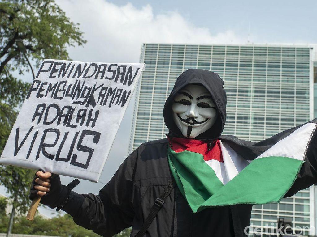 Ragam Aksi Para Pembela Palestina dalam Bingkai Kamera