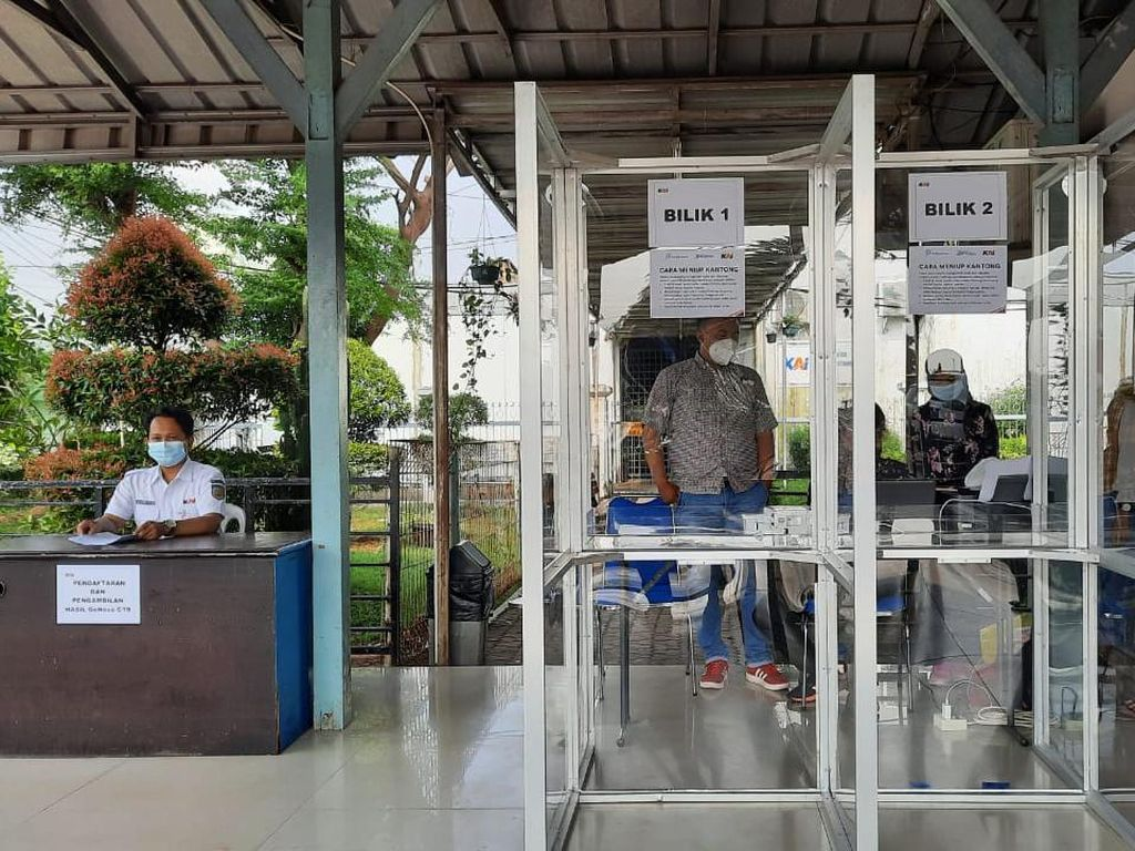 Per Hari Jumat ini, Stasiun Cikampek Layani Tes GeNose C-19